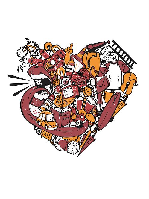 Boca fala | Camiseta Tradicional