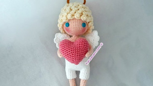 ~ I give you my heart ~ Valentine's Cupid (Free Pattern)