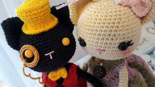 Kitty Dolls ~ Lady Clementine & Lord Jack~ (Free Pattern)