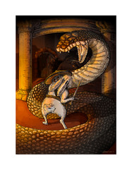HENRY AND THE RAT SNAKE