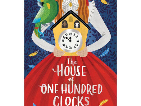The House of One Hundred Clocks cover reveal!