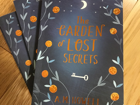 The Garden of Lost Secrets proof copies have arrived!