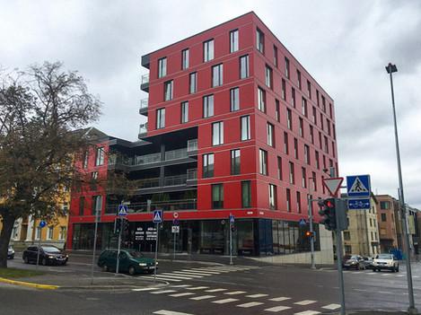Kortermaja Soola tänaval, Tartu, 2015