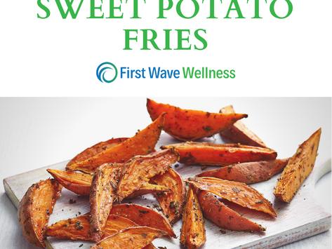 Healthy Sweet Potato Fries
