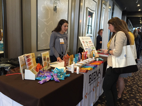 Biena Snacks at conf.jpg