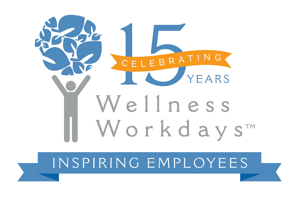 Wellness Workdays 15 Year Celebration Logo
