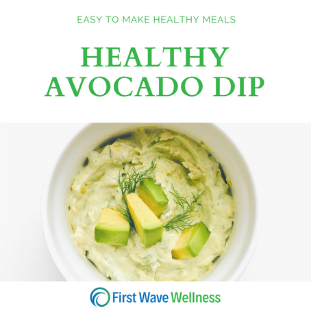 Healthy Avocado Dip
