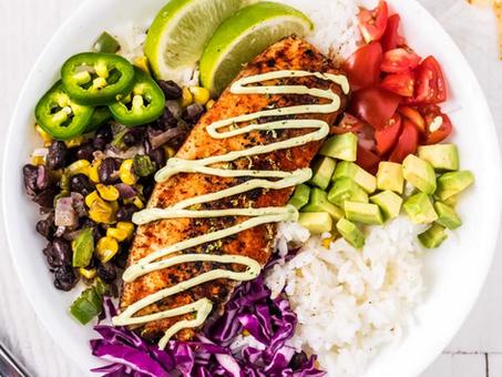 Healthy Fish Taco Bowls