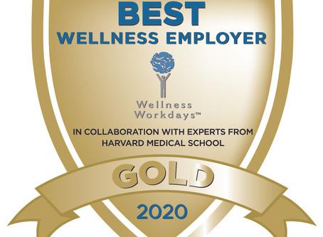 Wellness Workdays Announces Best Wellness Employer Awards