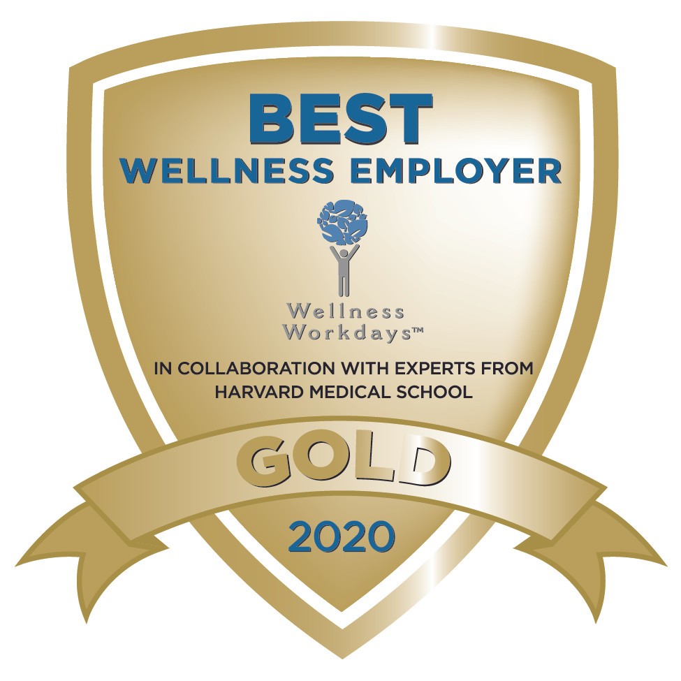 Best Wellness Employer Gold Award Wellness Workdays