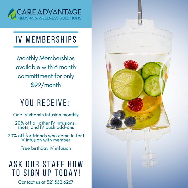 IV Drip Therapy Memberships