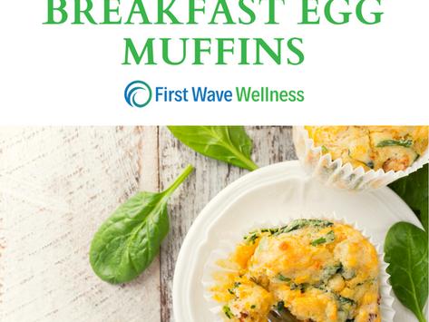 Healthy Breakfast Egg Muffins