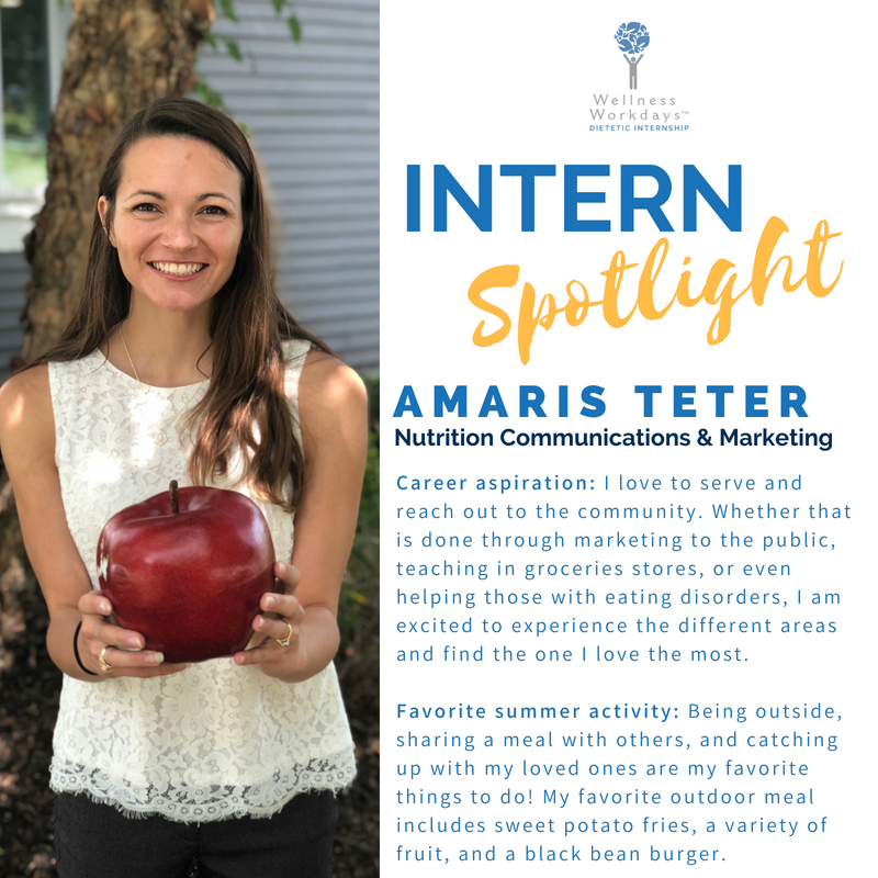 WWDI Intern Spotlight Amaris Teter