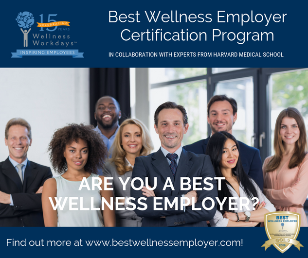 Best Wellness Employer Program Announcement