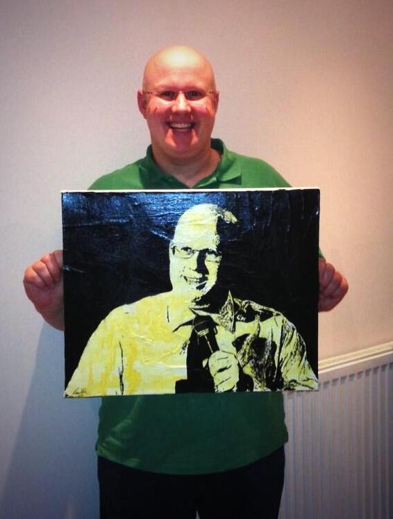 A portrait for Matt Lucas