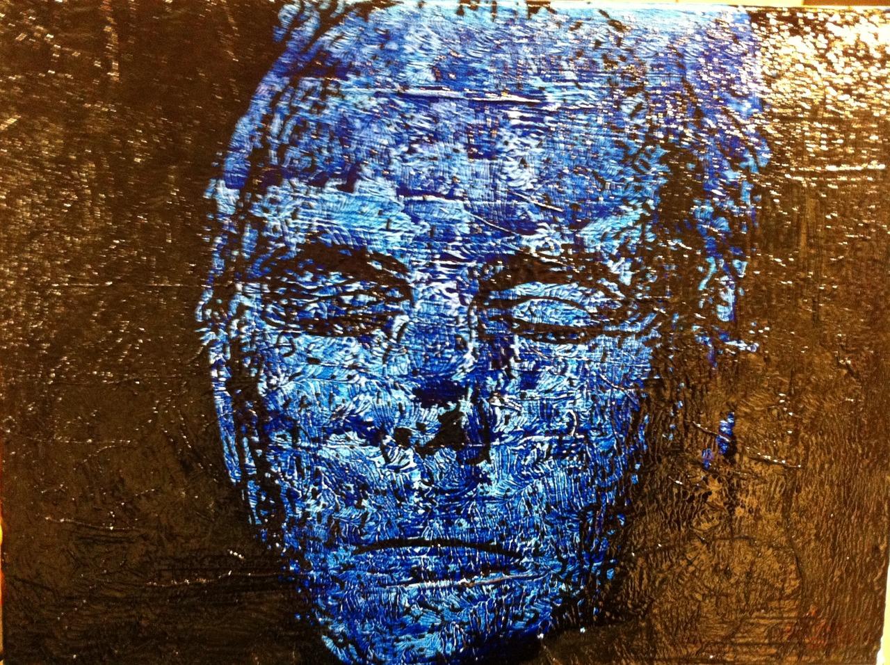 A portrait for Giorgio Armani