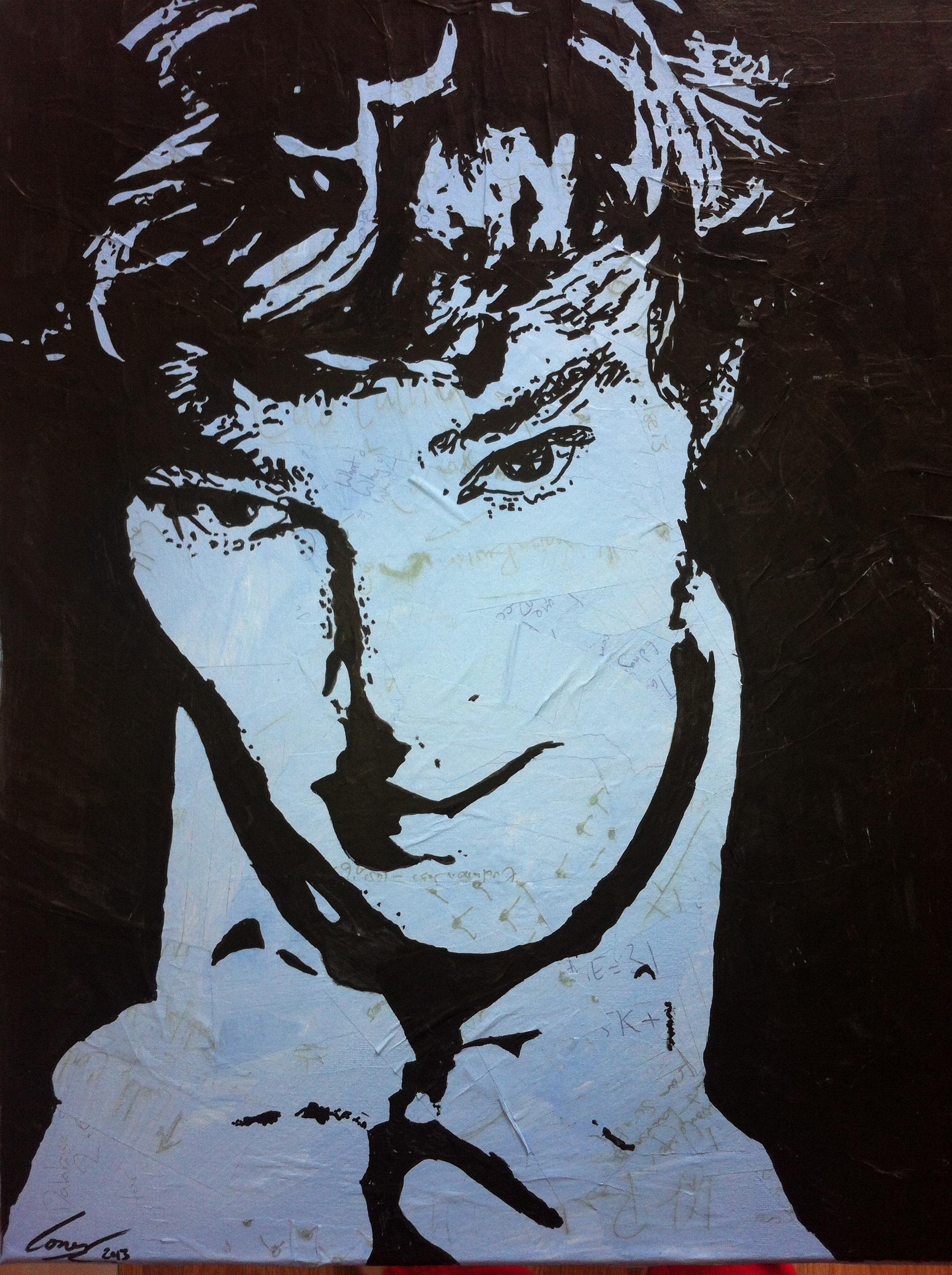 A portrait of Benedict Cumberbatch