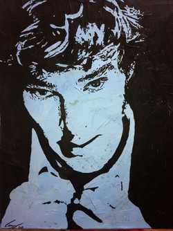 A portrait of Benedict Cumberbatch