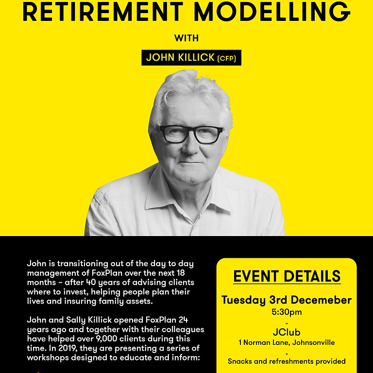 Investment and Retirement Modelling