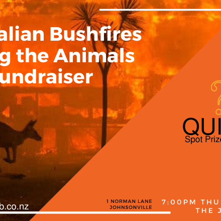 Australian Bush Fires Animal Help Fundraiser Quiz