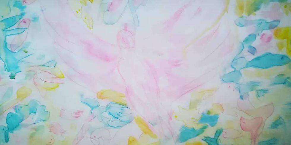 Intuïtief schilderen: Verlangen naar... THUISKOMEN
