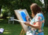 natuurvrouw-schildert-op-schilderzezel-2