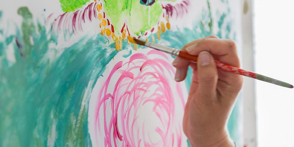 Vrij en intuïtief schilderen