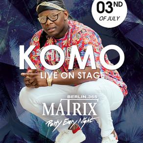 Komo & Johnny Roxx Live | Matrix Berlin | 3rd July 2019