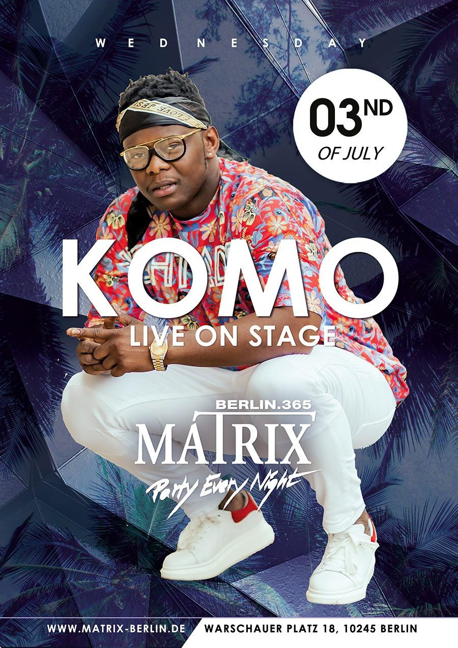 Komo Live At Matrix Berlin