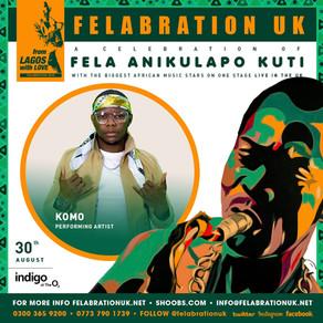 Komo Live At Indigo At The O2 | Felabration