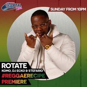 Ras Kwame Premieres ROTATE on Capital Xtra