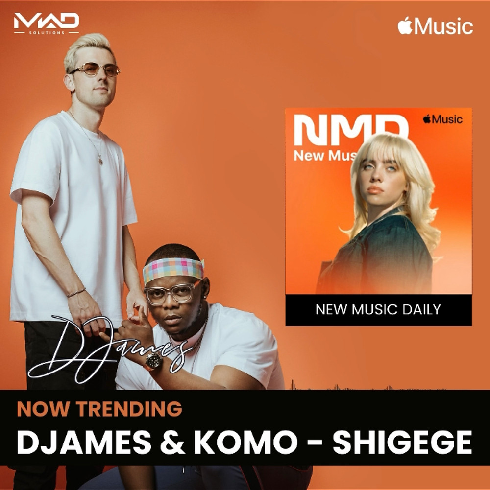 Shigege trending on apple music