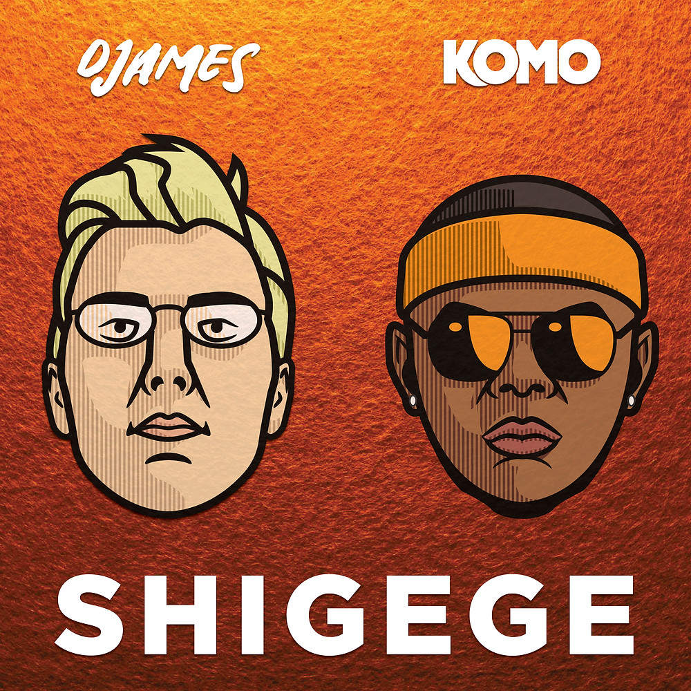 Artwork Album Cover For Shigege by DJames & Komo