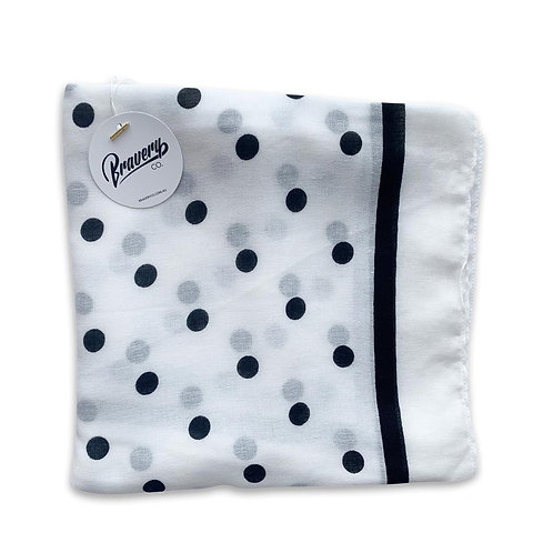Spot On Scarf - White