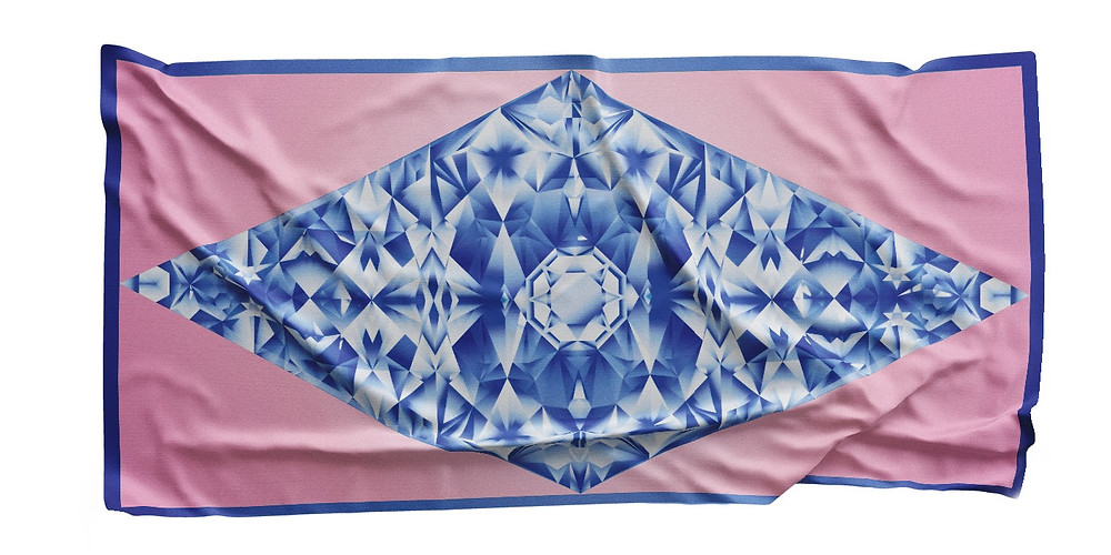 Bravery Co Crystal Queen scarf