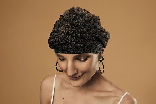 Twist Hat - Bronze Babe (with lining)