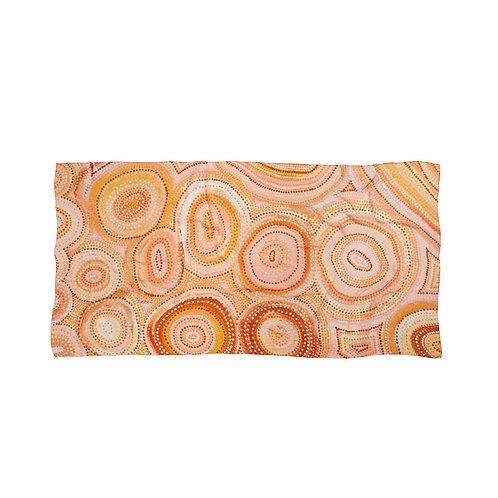 Rainbow Universe Wrap scarf by Natalie Jade
