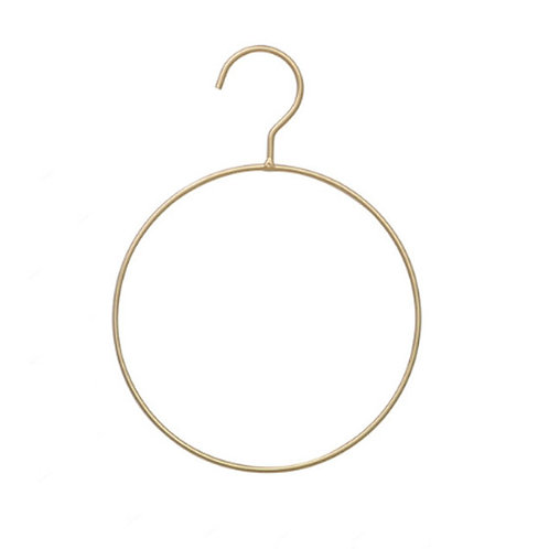 Gold Round Scarf Hanger