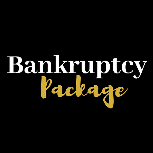 A bankruptcy package to help you through tough times created by ADR Financial Group.