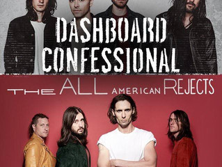 The All-American Rejects, The Maine, and Dashboard Confessional Announce Summer Co-Headlining Tour