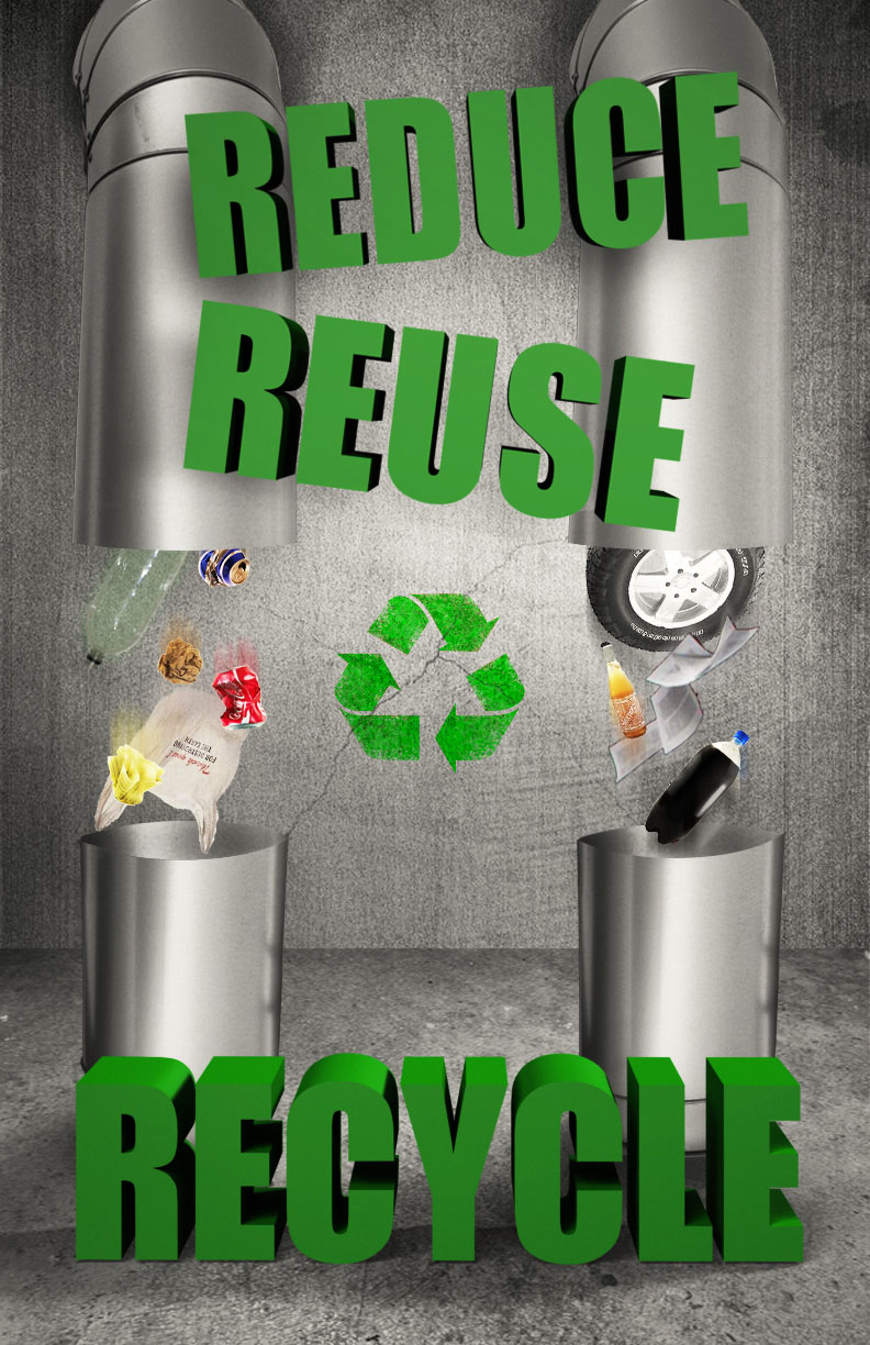 Reduse Reuse Recycle Joaquin Arrossi
