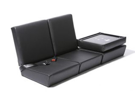 Exmoor Trim Full Seat Black