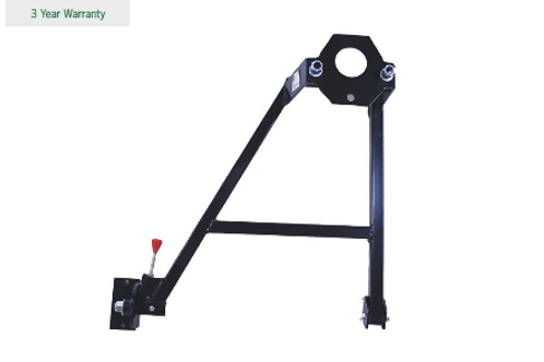 Rear Spare Wheel Carrier Soft Top Type BA 132B