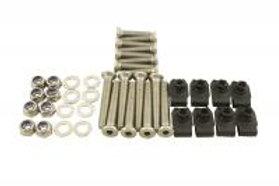 Front 2 Door Hinge Metric M8 Bolt Kit - Stainless Steel