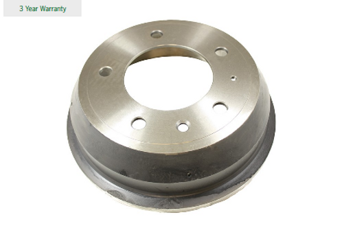 "Pair of 11"" brake drums (stainless steel)"