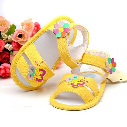 Sandalias Amarillas para Bebes Tiny Ted