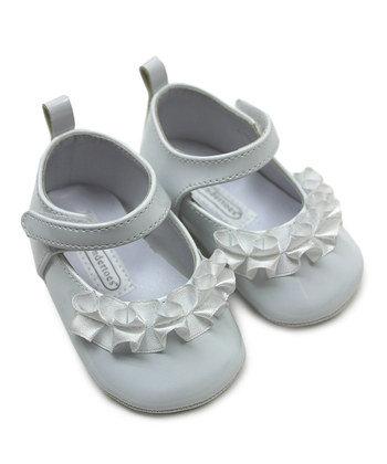Zapatos de Charol Blancos para Bebes
