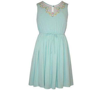 Vestido Aqua Bonnie Jean
