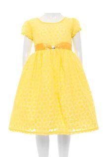Vestido Amarillo de Princesa Little Potatoes