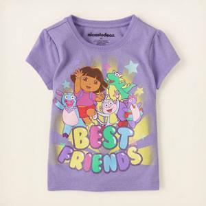 Camiseta Morada de Dora la Exploradora